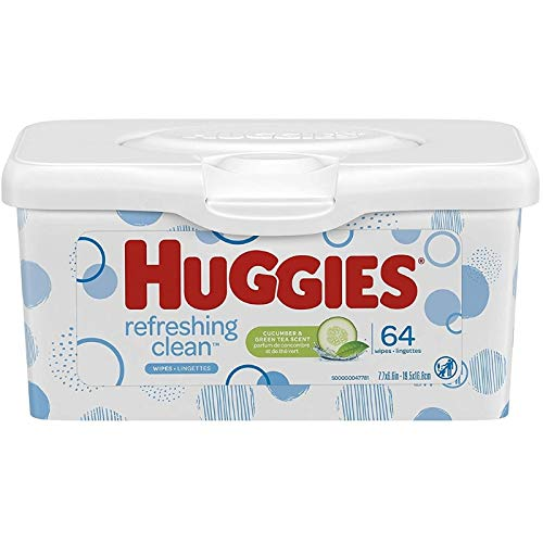 (Huggies One and Done Baby Wipes - Tub - 64 ct)