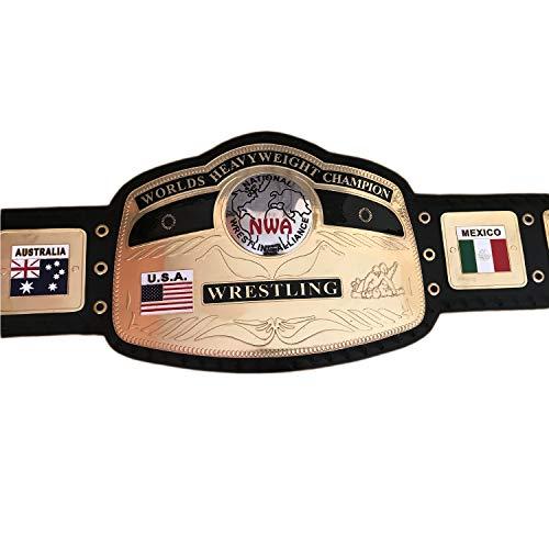 Vitalusa NWA Worlds Heavyweight Wrestling Championship Replica Belt Adult Size
