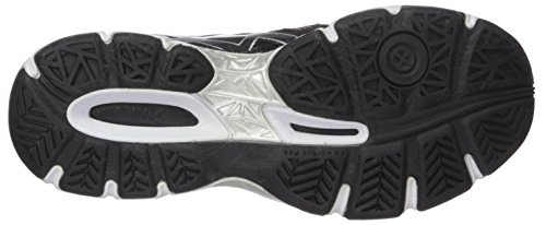 ASICS Women's Gel-Netburner Ballistic Volleyball Shoe, Black/Dark Grey/White, 9 Medium US by ASICS (Image #3)