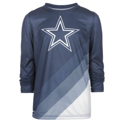 00c3f62b Image Unavailable. Image not available for. Color: Dallas Cowboys Nike Youth  Legend Prism Long Sleeve Tee
