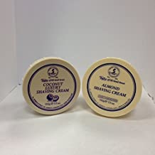 Taylor of Old Bond Street Shave Cream -- 2 Pack 5.3 0z Each Choose Your Scents! (Almond and Coconut)