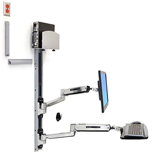Ergotron 45-358-026 LX Sit-Stand Wall Mount System by Ergotron