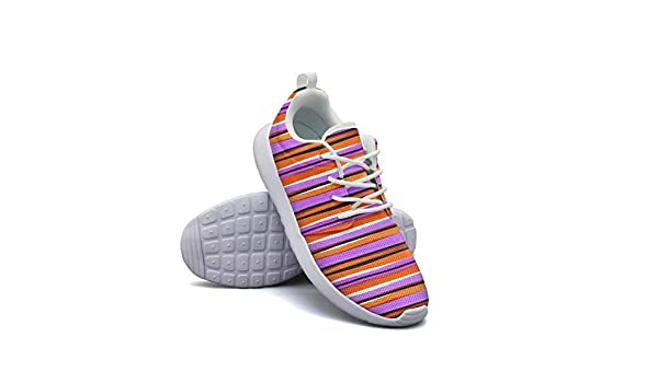 ERSER Stripe Cushioned Running Shoes Women