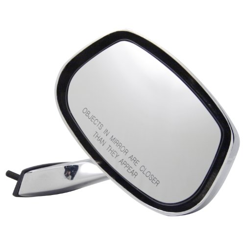 Mirror Electra Glass Buick - Pilot CV3109410-1R00 Buick Electra Chrome Manual Replacement Passenger Side Mirror