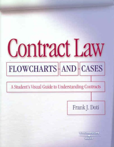 Students Visual Guide - Contract Law Flowcharts and Cases: A Student's Visual Guide to Understanding Contracts