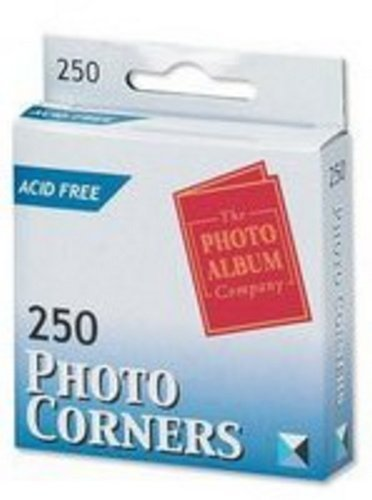 Peregrine Acid Free 500 Clear Traditional Acid Free Photo Corners In 2 Handy Dispenser Boxes by Peregrine Acid Free