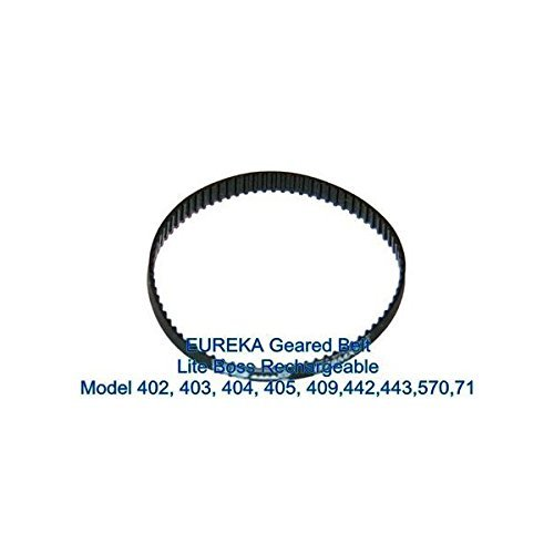 amazon com eureka genuine geared belt for models boss and lite 402 rh amazon com
