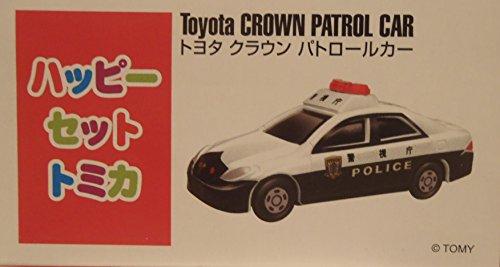 ハッピーセット トミカ(TOMICA) マクドナルド トヨタ クラウン パトカー 警視庁