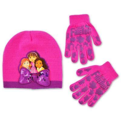 Nickelodeon Dora The Explorer hat & Gloves ()