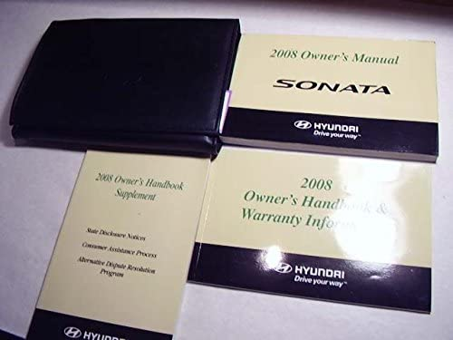 Amazing 2008 Hyundai Sonata Owners Manual Hyundai Corp Amazon Com Books Wiring 101 Orsalhahutechinfo