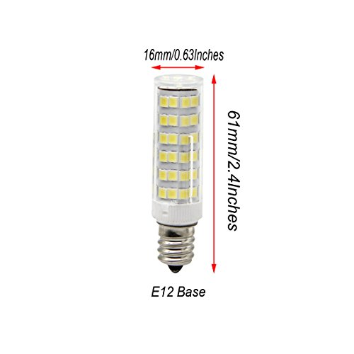 Jd E12 Led: Ulight Led E12 Led Light Bulb 120V, 6000K Daylight White