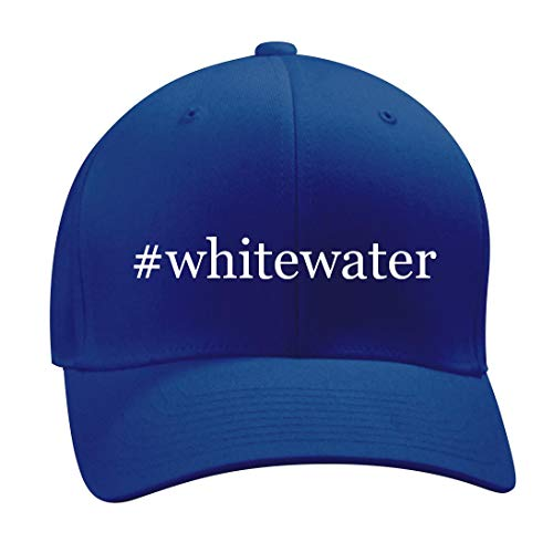 #Whitewater - A Nice Hashtag Men's Adult Baseball Hat Cap, Blue, Large/X-Large -
