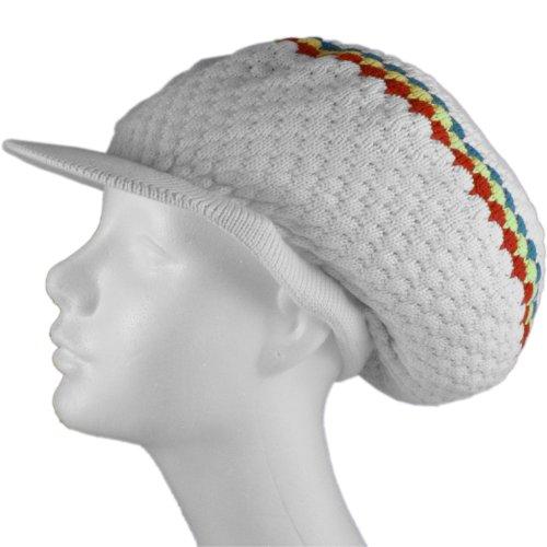 Shoe String King SSK Rasta Knit Tam Hat