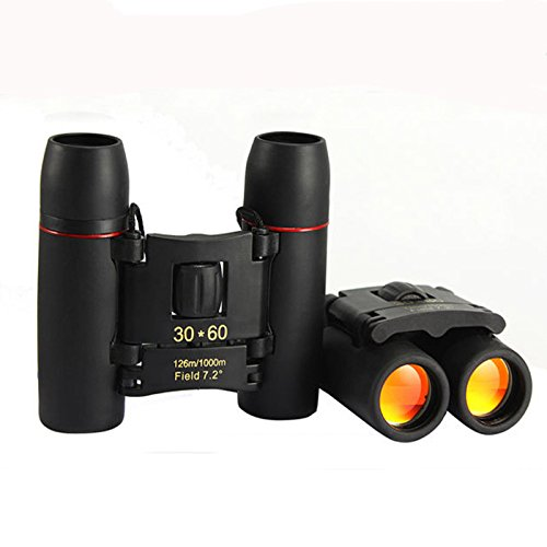 YU Binoculars with Day and Night 30X60 Times Telescope Hd Infrared Light Night Vision Binoculars,Black,30X60 by YU