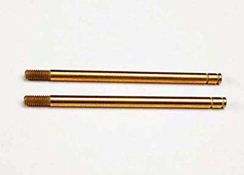 Traxxas 2656T Hardened-Steel Shock Shafts with TiN Coating (XX-long) (pair)
