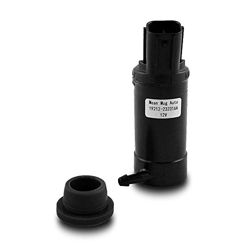 Mean Mug Auto 19212-232316A Windshield Washer Pump w/ Grommet - For: Subaru - Replaces OEM #: W0133-1781190 (W0133 Pump)