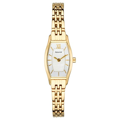 Accurist Gold Plated Ladies Dress Watch