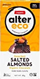 ALTER ECO Deep Dark Salted Almonds Organic Chocolate Bar 80g