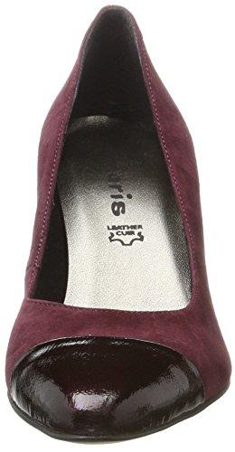 22442 Tamaris Vine Patent Escarpins Femme Rouge YzWzqd