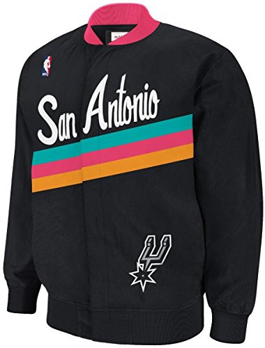 San Antonio Spurs Mitchell & Ness NBA Authentic 94-95 Warmup Premium Jacket 3X- Large by Mitchell & Ness