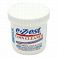 Limpiador de monedas EZEST 5 oz. jar (Cantidad = 1 Jar)