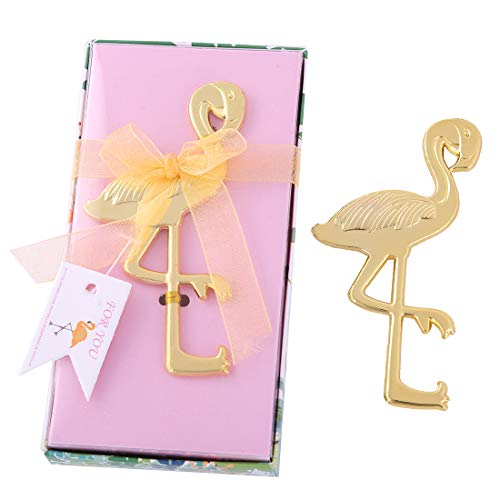 - 12 pcs Flamingo Bottle Opener Wedding Favors and Gifts with Exquisite packaging Box Wedding Gifts For Guests Wedding Baby Shower Souvenirs Party Supplies by WeddParty(Flamingo)