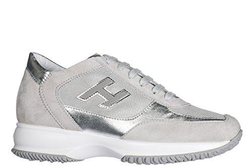Hogan Women's HXW00N03242FP609B2 Trainers Grey Grey pick a best for sale Cheapest sale online xayat8S6sD