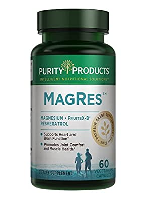 Purity Products - MagRes Formula Magnesium + Resveratrol 60 capsules