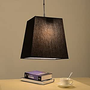 Pendant lights Restaurant Chandeliers, Cloth Modern Simple Bedroom Northern Europe Study Cafe Personal Light ( Color : A , Shape : B )