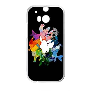 Creative Watercolor Animal Pattern Fahionable And Popular High Quality Back Case Cover For HTC M8