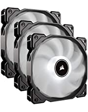 Corsair CO-9050082-WW Af120 LED Low Noise Cooling Fan Triple Pack - White Cooling
