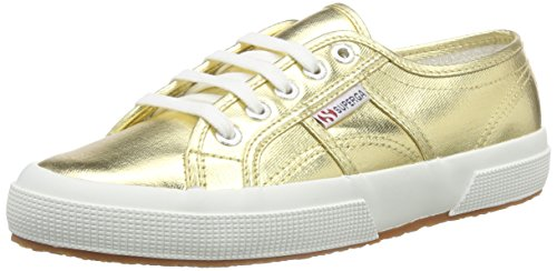 Orange Women's Sneaker 2750 Gold Cotu Superga UYvwIx8w