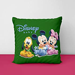 41demkwyREL. SS320 Disney Christmas Disney Cartoon Square Design Printed Cushion Cover
