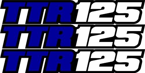 Yamaha Swing (Yamaha Ttr125 Swingarm Airbox Decals Sticker TTR 125 Dirtbike Racing Mx Graphics Atv)