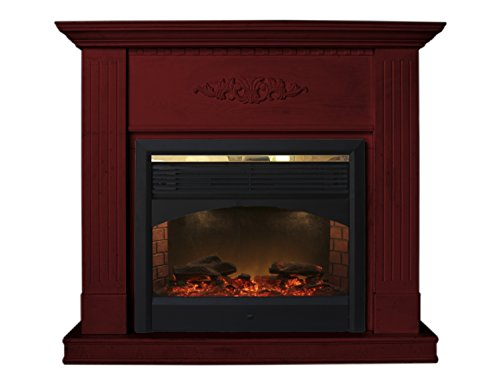 Cheap Cherry Diana Electric Fireplace Heater with Remote Control (CHERRY) Black Friday & Cyber Monday 2019