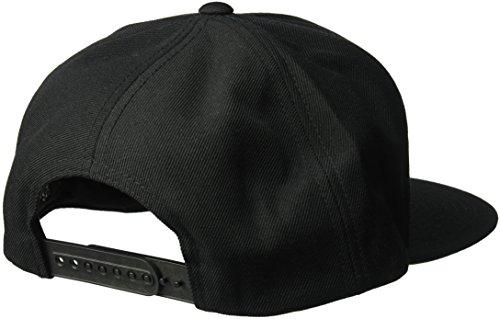ciclismo para Negro Gorra única color talla Cap Rift hombres de negro Brixton gxXHI7qP