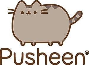 GUND Pusheen Snackables Birthday Cupcake Plush Stuffed Animal, Gray, 10.5 (Color: Multi-colored, Tamaño: 10.5 x 5 x 7)