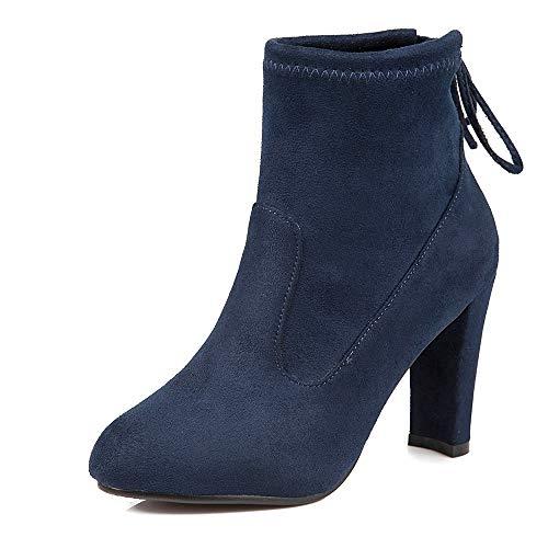 Herbst und Heels und High High Schuhe Stiefel Heels Mode HCBYJ wild Stiefel dick Winter Rutschfeste Baumwolle 1gE4wqytx