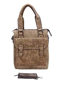 Highflyer File Bag Travel Bag -5089-2-Brown