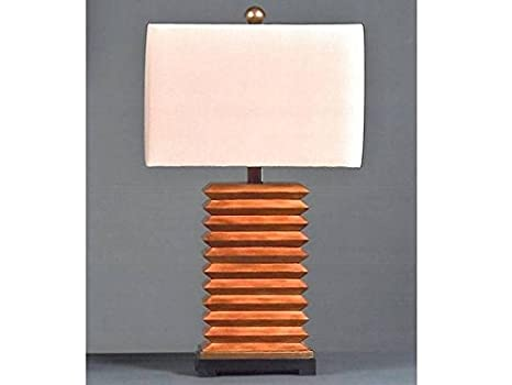 Amazon.com: Park Lane Lighting44; LLC 632 - Lámpara de mesa ...