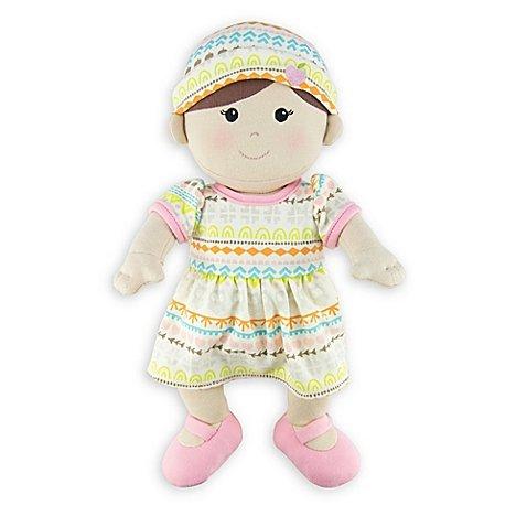 Organic Apple Cotton (Apple Park Toddler Girl Doll, 100% organic cotton)