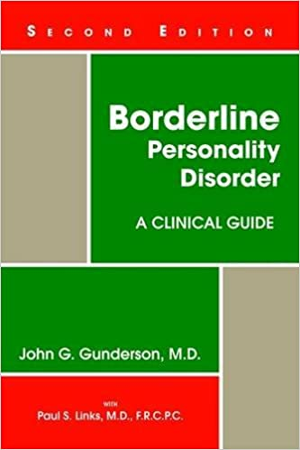 What Is Borderline Personality Disorder >> Borderline Personality Disorder A Clinical Guide 9781585623358