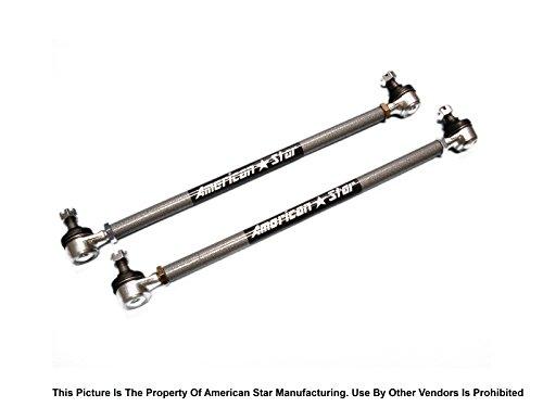 American Star 4130 Chromoly Steel ATV Tie Rod Upgrade KIt for Kawasaki KFX450R 08-14,Suzuki LT-Z400 09-14, Yamaha Grizzly 550 09-14, Grizzly 660 02-08 Grizzly 700 07-14, Grizzly 700 EPS 08-13