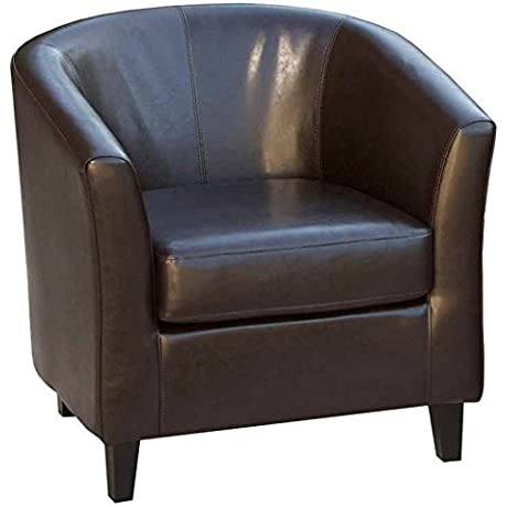 Dover Brown Club Chair