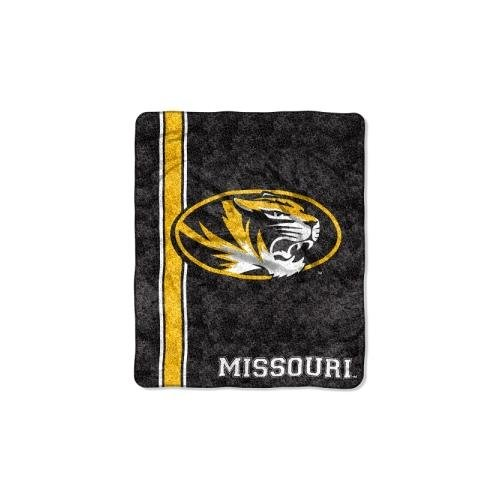 The Northwest Company NCAA Missouri Tigers Jersey Sherpa on Sherpa Throw, 50