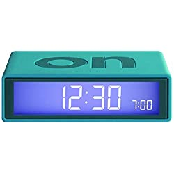 Lexon Flip Alarm Clock Turquoise by Lexon