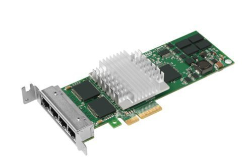 Intel EXPI9404PTL PRO/1000 PT Quad Port Server Adapter - Network adapter - PCI Express x4 low profile - Gigabit Ethernet x (Pci Quad)
