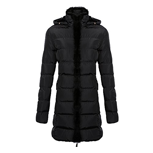 COUTUDI Parkas Furred Hooded Womens product image