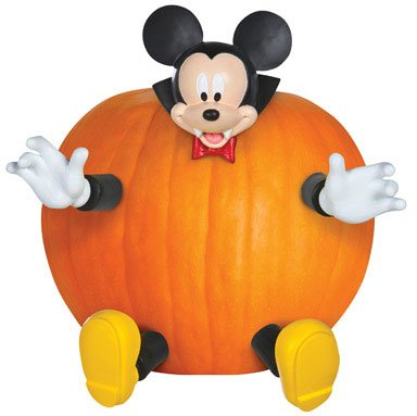 Pumpkin Push In Mickey