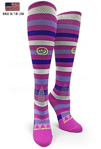 Crazy Compression OTC All About Stripes Compression Socks
